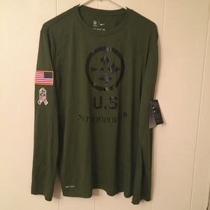 STEELERS NIKE SALUTE TO SERVICE LONG T-SHIRT